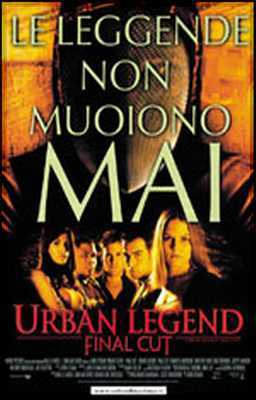 Urban Legend 2 - Final Cut