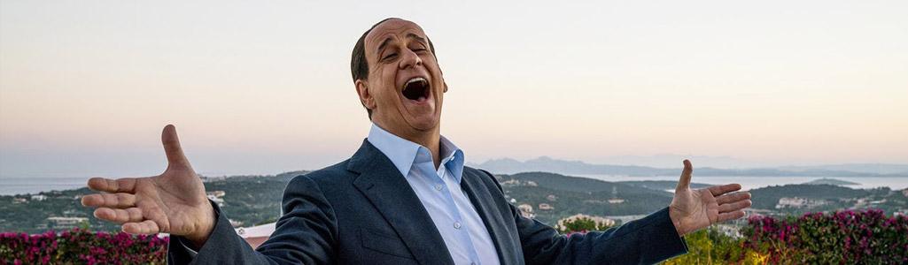 L'ATTESISSIMO DOPPIO FILM DI SORRENTINO SU BERLUSCONI, IN DVD E' STATO CONDENSATO IN UN'UNICA OPERA DI 151 MINUTI. ESSENDO INEDITO IN ITALIA, QUESTA E' L'UNICA VERSIONE ESISTENTE...
